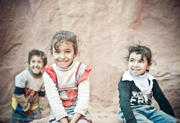 Bedouin kids